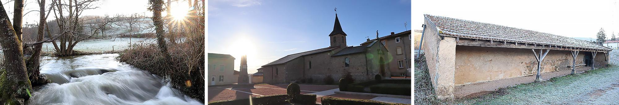 Saint Just la Pendue triptyque